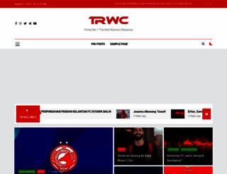 theredwarriors.com screenshot
