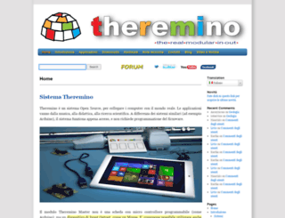 theremino.com screenshot