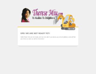 theresemiu.com screenshot