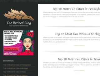 theretiredblog.com screenshot