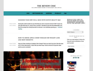 thereviewchic.wordpress.com screenshot