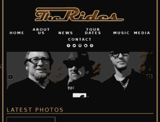 theridesband.com screenshot