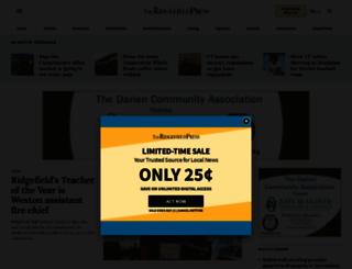 theridgefieldpress.com screenshot