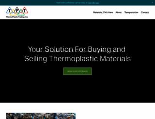 thermoplastictrading.com screenshot