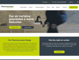 thermoscreens.com screenshot