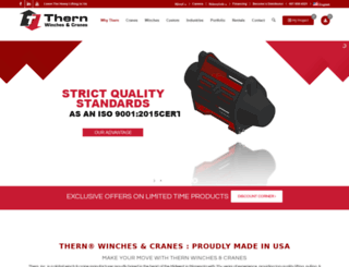 thern.com screenshot