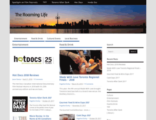 theroaminglife.com screenshot