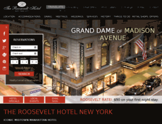 theroosevelthotel.milestoneinternet.info screenshot