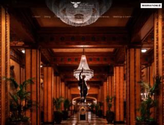 therooseveltneworleans.com screenshot