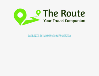 theroute.in screenshot