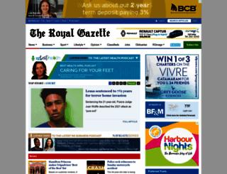 theroyalgazette.com screenshot