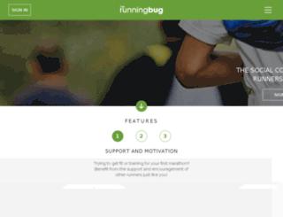 therunningbug.co.uk screenshot