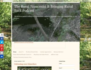 theruraleconomist.blogspot.com screenshot