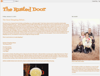 therusteddoor.blogspot.com screenshot