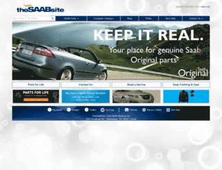 thesaabsite.com screenshot