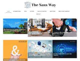 thesassway.com screenshot