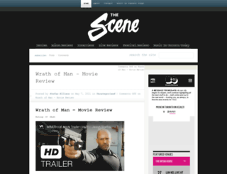 thescenemagazine.ca screenshot