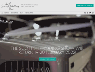 thescottishweddingshow.com screenshot