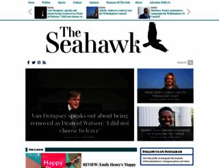 theseahawk.org screenshot