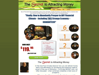 thesecrettoattractingmoney.com screenshot