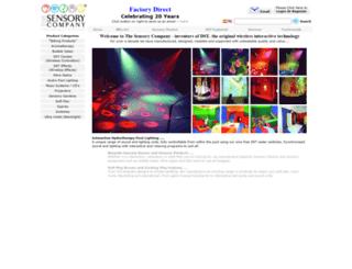 thesensorycompany.co.uk screenshot
