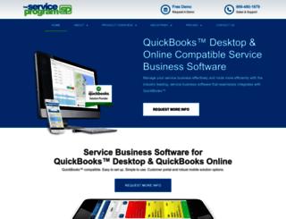 theserviceprogram.com screenshot
