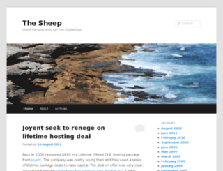 thesheep.co.uk screenshot
