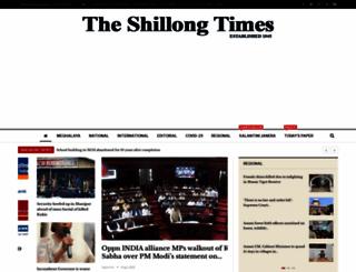 theshillongtimes.com screenshot