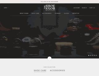 theshoesnob.com screenshot