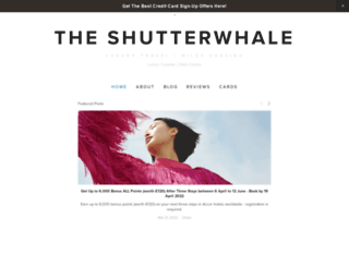 theshutterwhale.com screenshot
