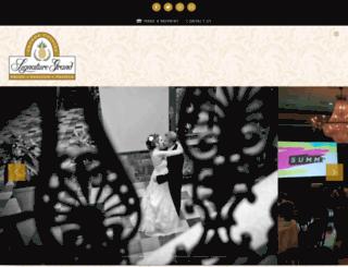 thesignaturegrand.com screenshot