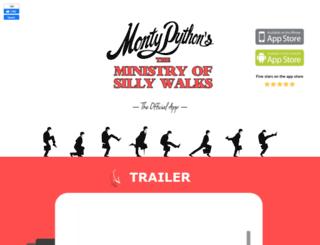 thesillywalk.com screenshot
