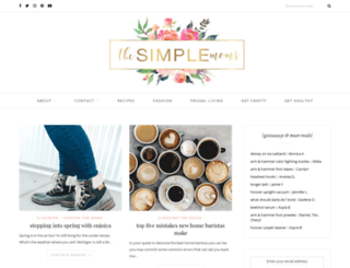 thesimplemoms.com screenshot