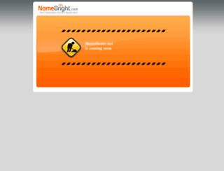 thesistheme.net screenshot