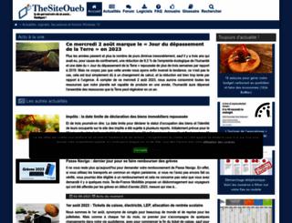 thesiteoueb.net screenshot