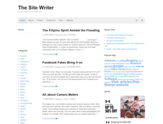 thesitewriter.com screenshot