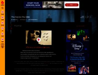 theslenderman.wikia.com screenshot