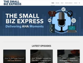 thesmallbizexpress.com screenshot