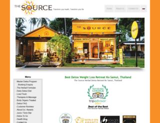 thesourcesamui.com screenshot