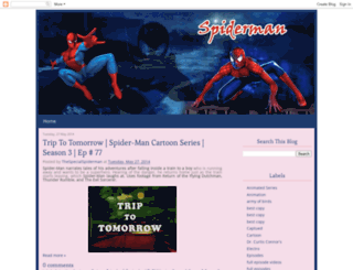 thespecialspiderman.blogspot.in screenshot