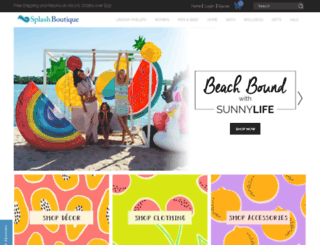 thesplashboutique.com screenshot