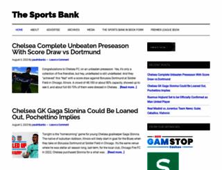 thesportsbank.net screenshot