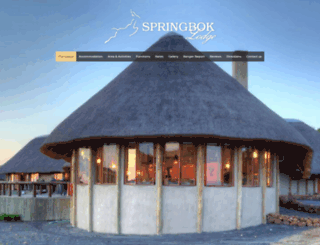 thespringboklodge.co.za screenshot