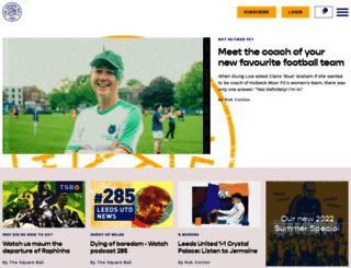 thesquareball.net screenshot