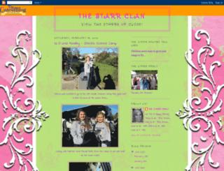 thestarrclan.blogspot.de screenshot