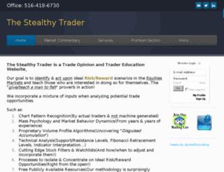 thestealthytrader.com screenshot