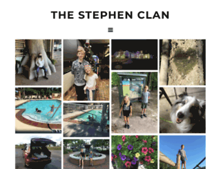 thestephenclan.com screenshot