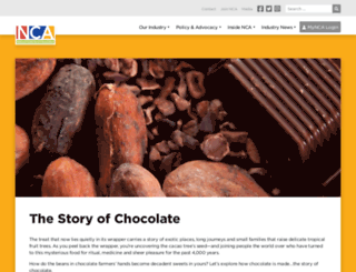 thestoryofchocolate.com screenshot