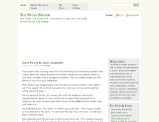 thestorysolver.com screenshot