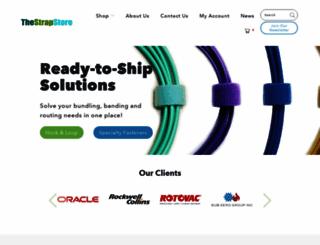 thestrapstore.com screenshot